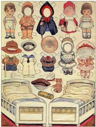 antique paper dolls - Bobe - Picasa Web Albums