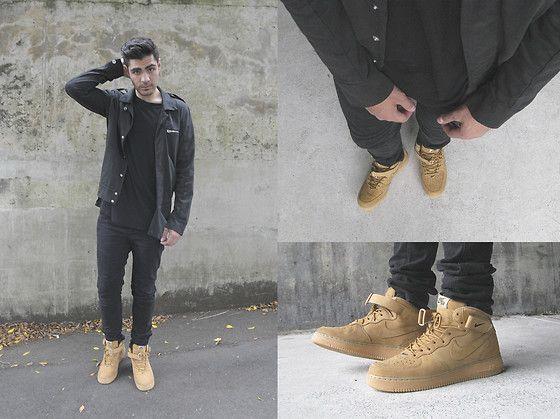 Nike Air Force 1 Mid 07 Vêtements De Lin
