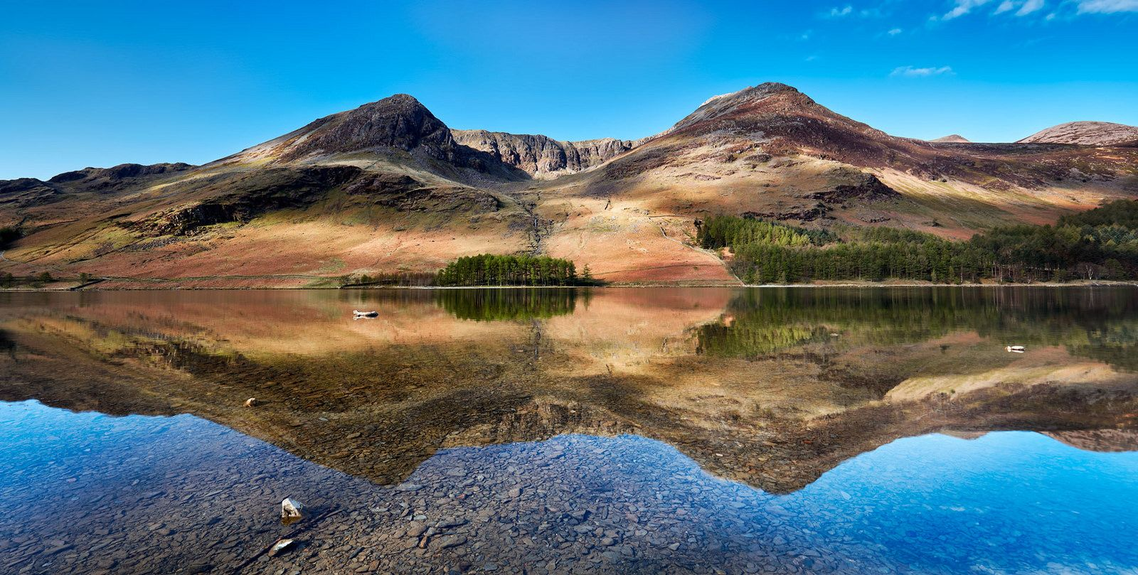 Twin Peaks Buttermere Lake District Lake District National Park Scenery