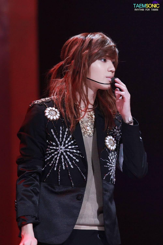 10 Male K Pop Idols You Forgot Had Long Hair Koreaboo Taemin Long Hair Styles Shinee Taemin