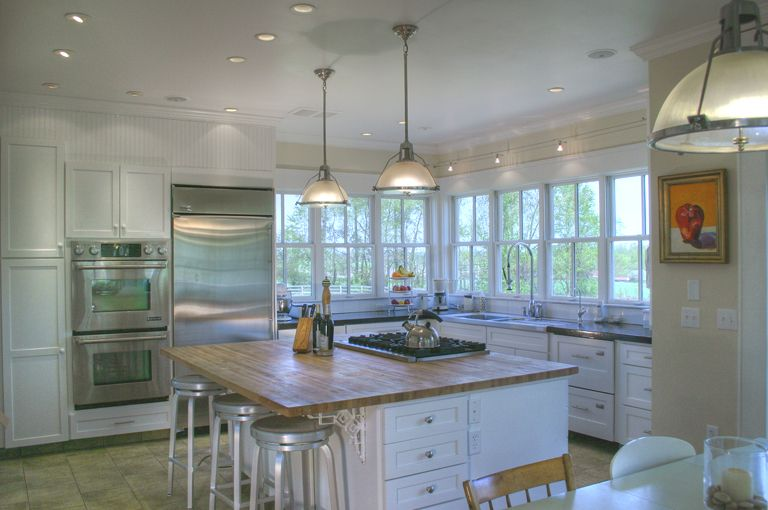 Kitchen Lots Of Windows Lots And Lots Of Windows Lots And Lots Of Light Farmhouse Kitchen Design Building A House New Home Designs