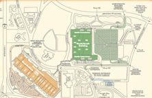 OCCC Site PlanParking Map Coverings Orlando Pinterest - Orange county convention center map