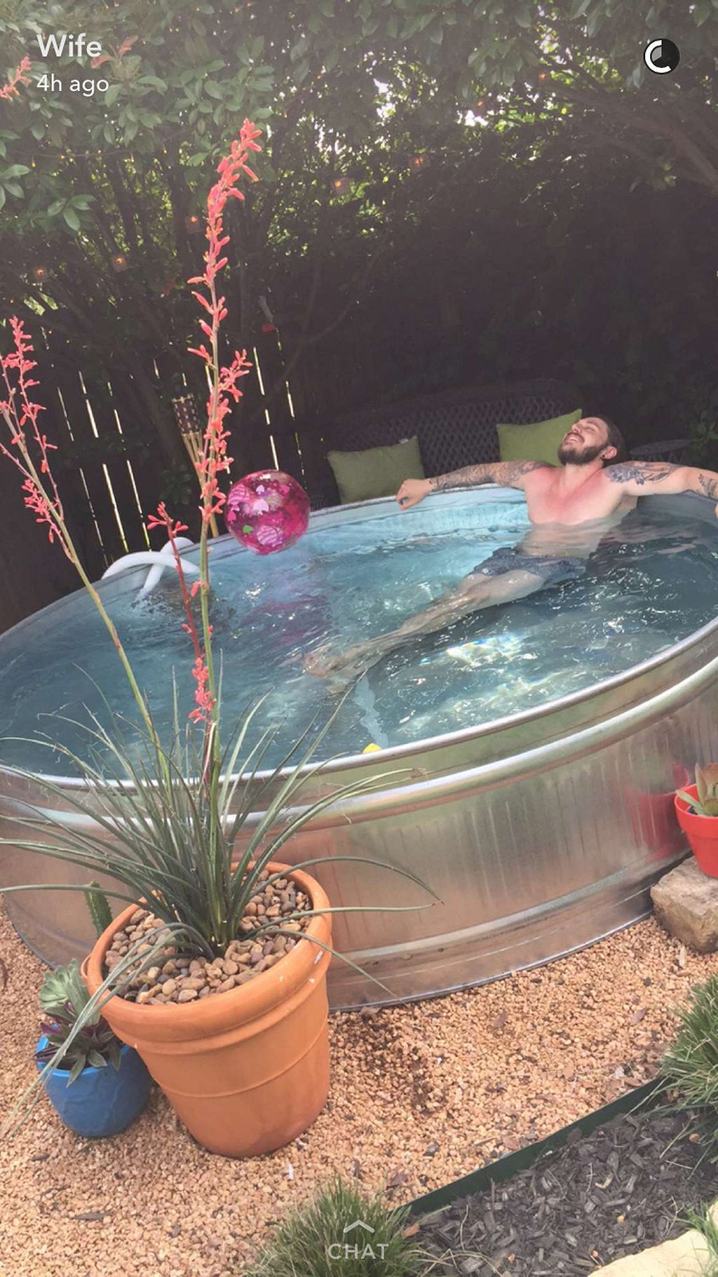 65 Stock Tank Pool Ideas In Backyard Backyard Backyard Pool Stock Tank Pool