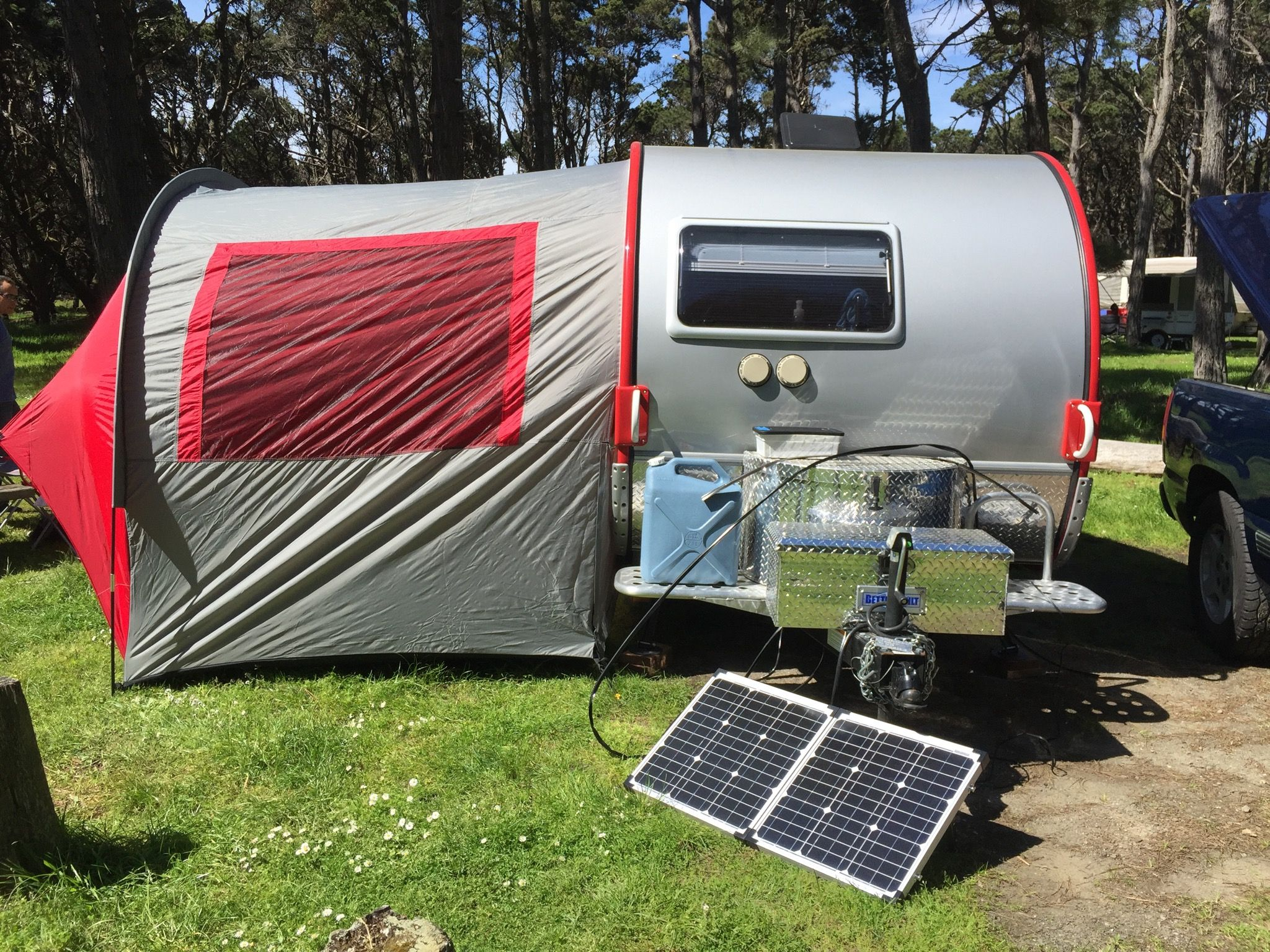 T@B Outback Trailer- Equipped with Z& solar panel and PahaQue tent. & T@B Outback Trailer- Equipped with Zamp solar panel and PahaQue ...