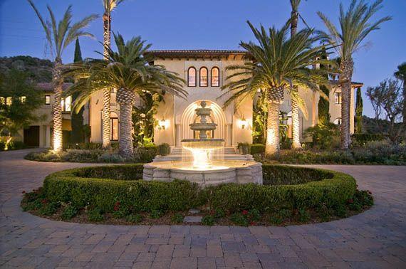 319 Million Mediterranean Mansion In Brentwood Home