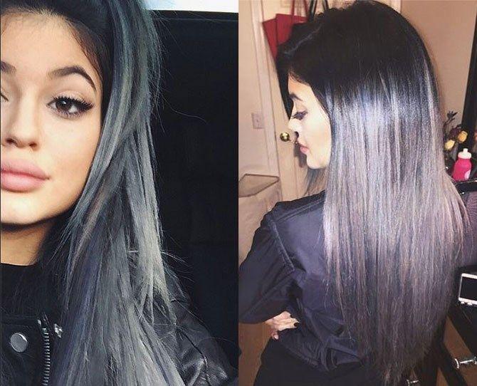 Kylie Jenner Grey Hair Google Search Hair Inspiration