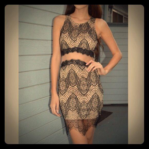 Luxxel lace dress