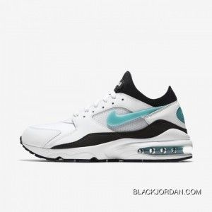 Discount Nike Air Max 93 WhiteSport TurquoiseBlack