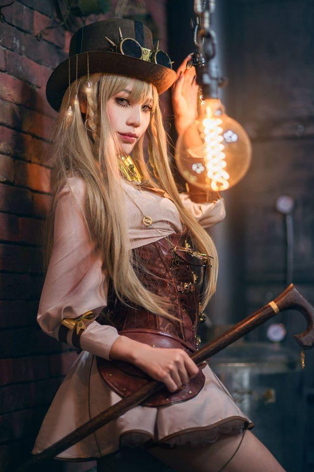 steampunk Cosplay xxx