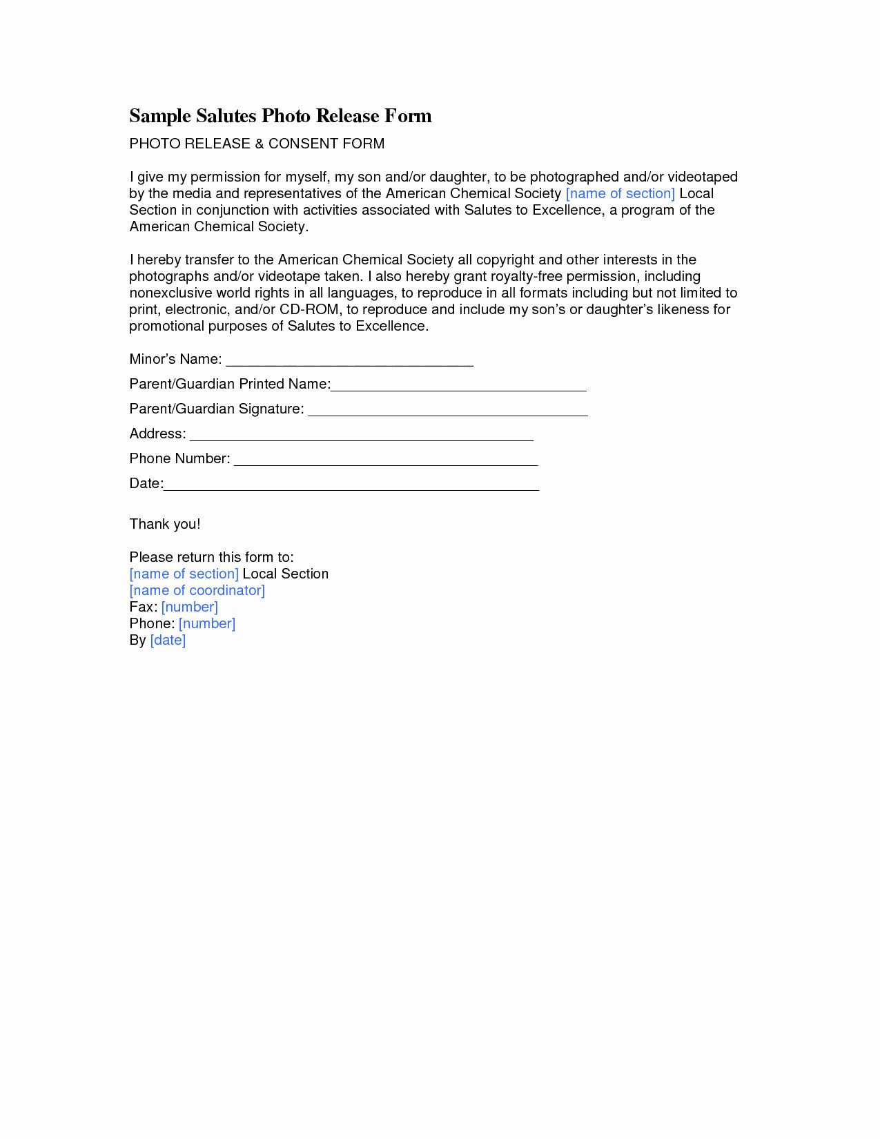 School Media Release Form Beautiful Best S Of Consent Release Form