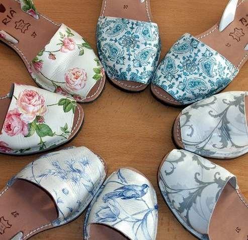 Decoupage sobre calzado