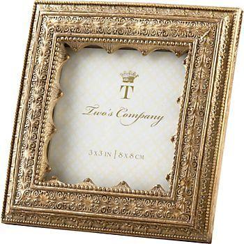 paper source mini gold picture frame - Mini Gold Frames