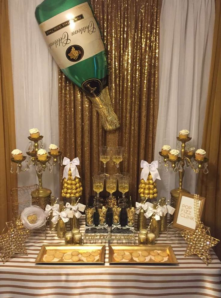 Birthday Party Ideas New years eve decorations