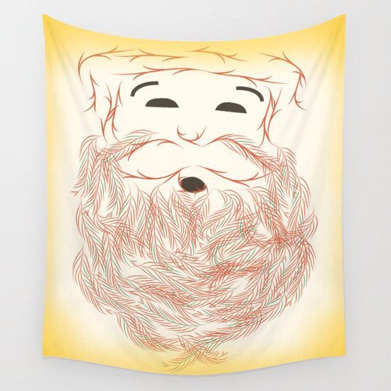 Tapestry, wall tapestry, Christmas decor, Santa Claus, wall hanging by Famenxt on Etsy https://www.etsy.com/listing/252952502/tapestry-wall-tapestry-christmas-decor