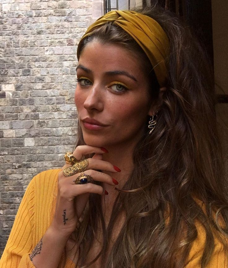 Mellow Yellow  Love this headband, a perfect accessory. #headbands #yellow #hairaccessories  #Mellow #Yellow