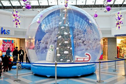 Snow Globe Large Walk In Snow Globe By 4 Life Photography I