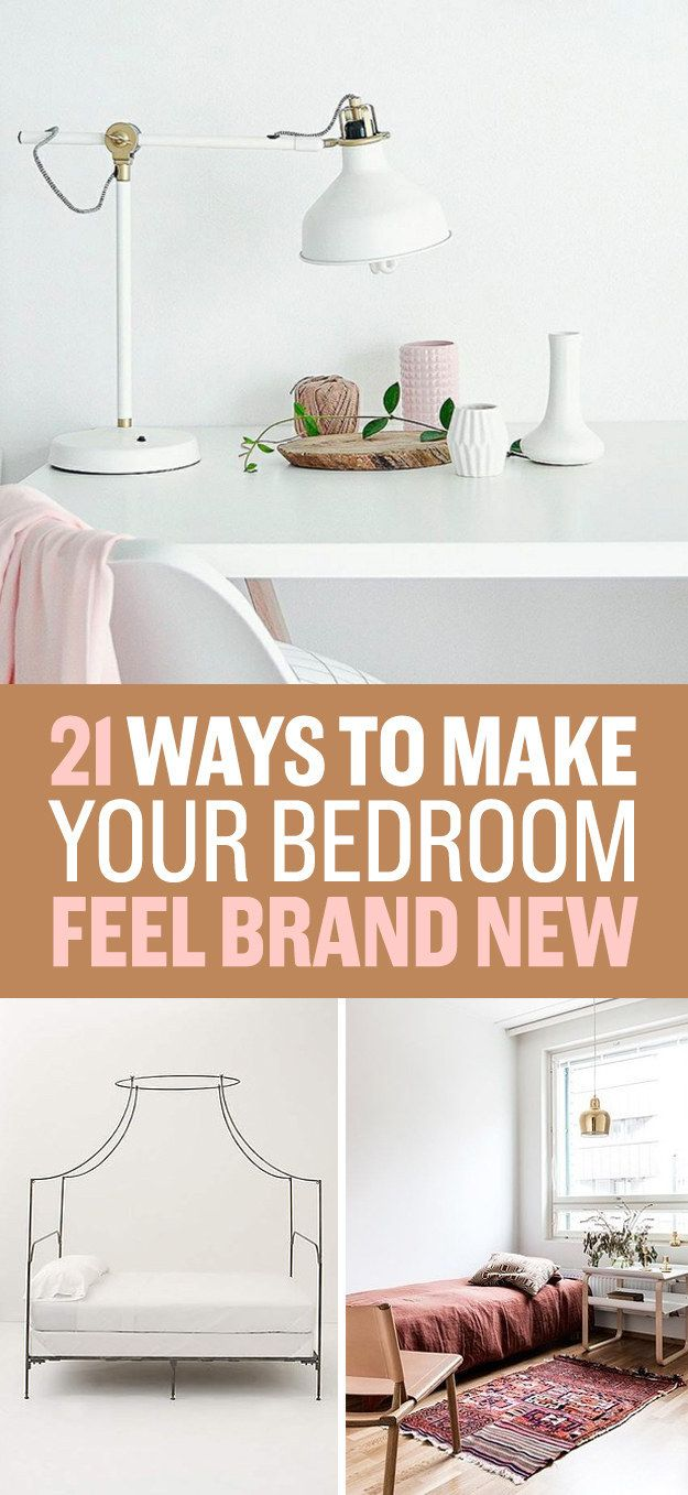 21 inexpensive ways to upgrade your bedroom room pinterest bedrooms and room - Cheap ways to decorate your bedroom ...