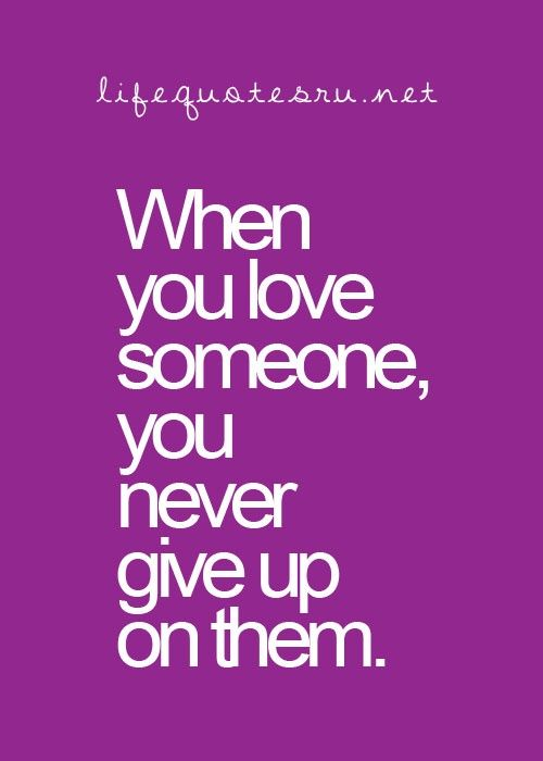 """You Know How They Say """"if You Love Someone, Let Them Go"""