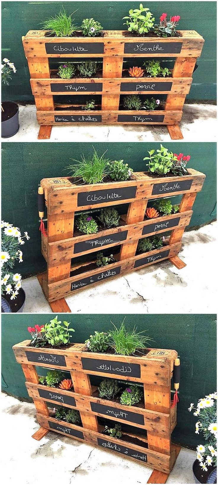 Trending Plans Made With Used Shipping Pallets Paletten Garten