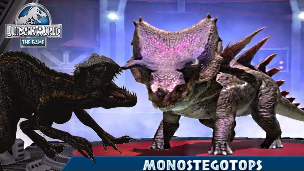 NEW SUPER-HYBRID MONOSTEGOTOPS! Jurassic World The Game