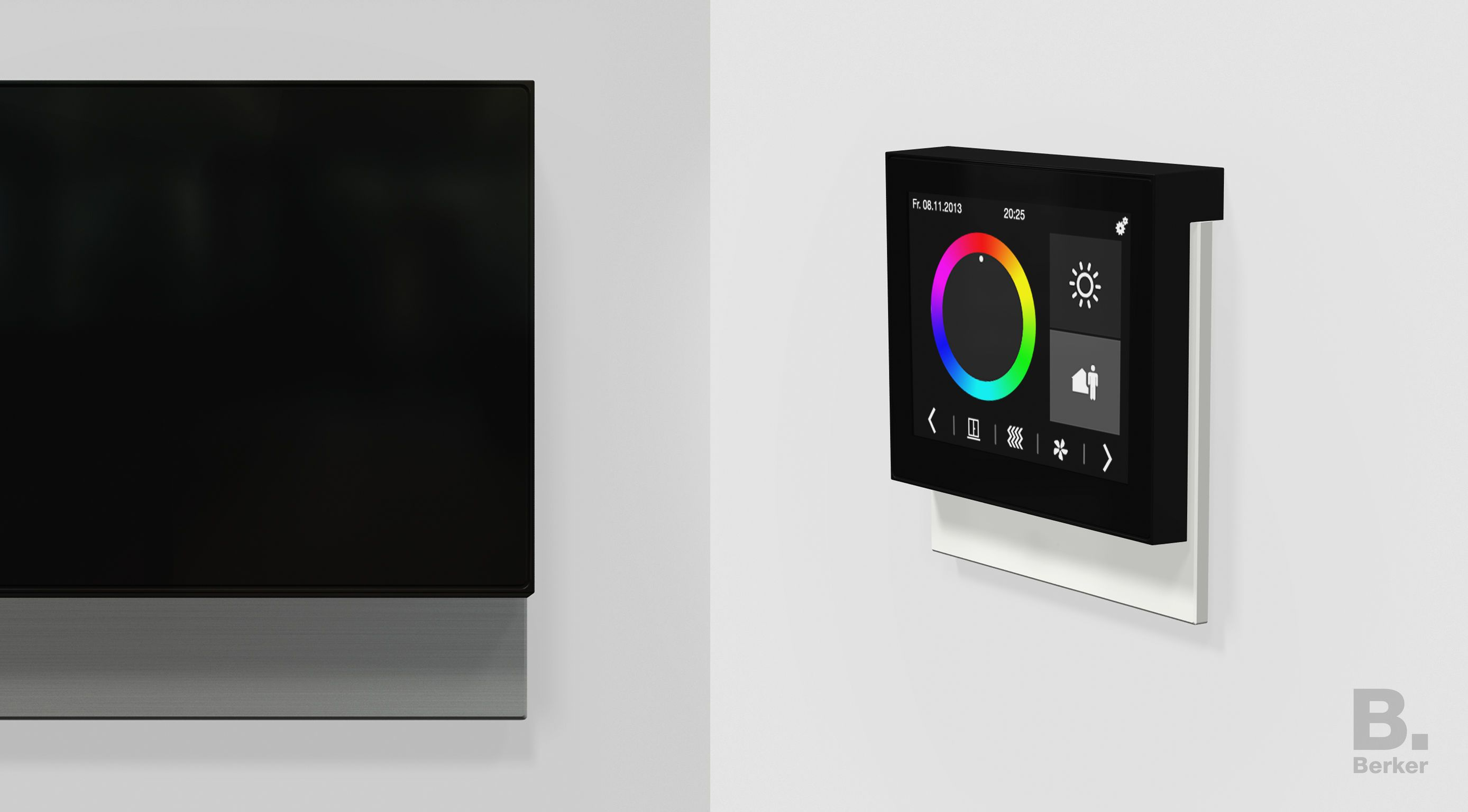 berker knx touch control the knx touch control room controller is