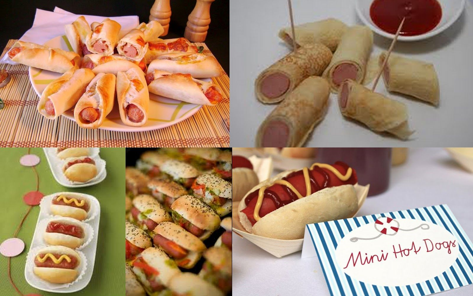 Fiestas con encanto Ideas fciles y divertidas de comida para una