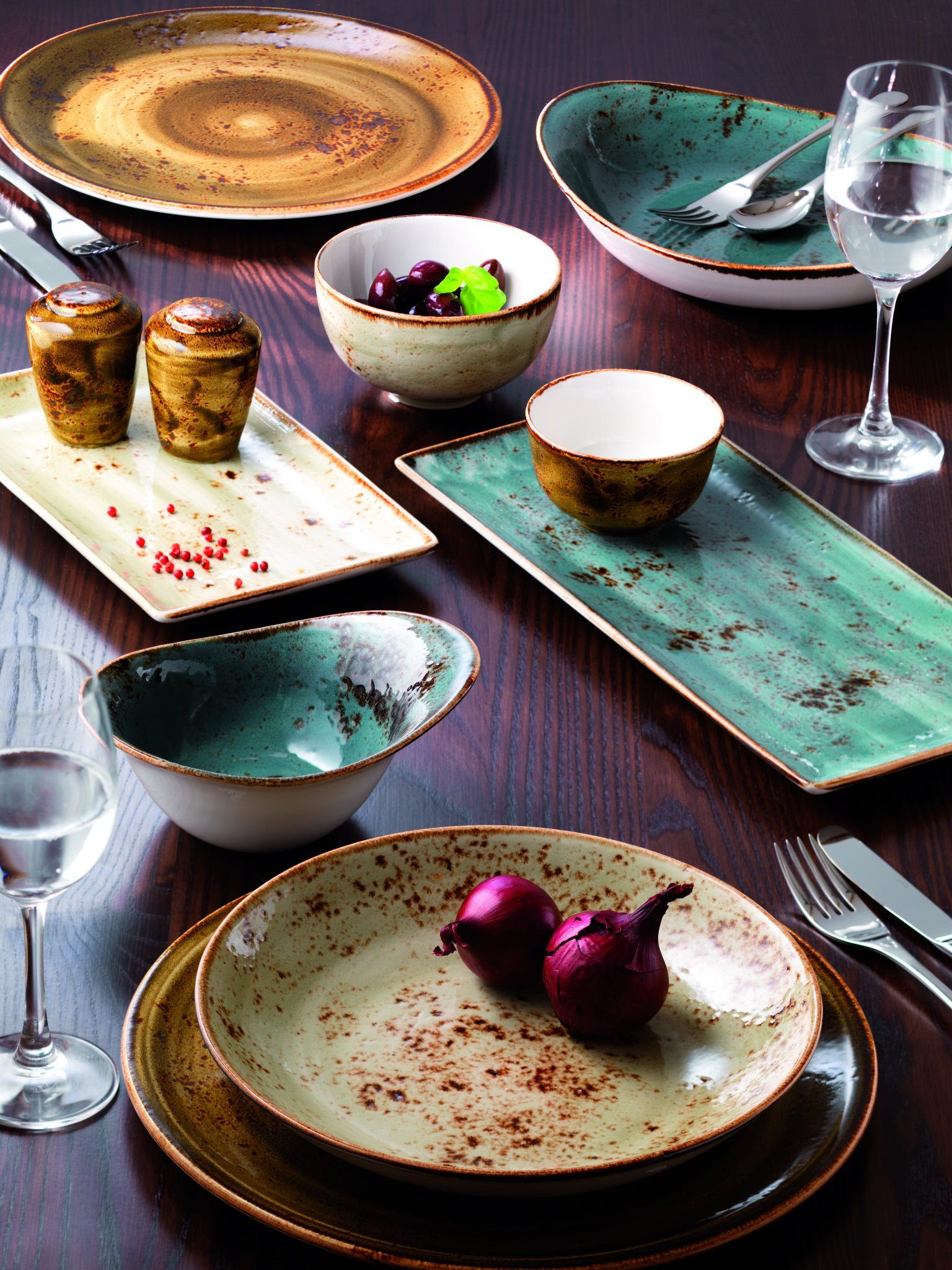 Craft By Steelite Performance Collection Tabletop Painted Ceramic Plates Ceramic Tableware Crockery
