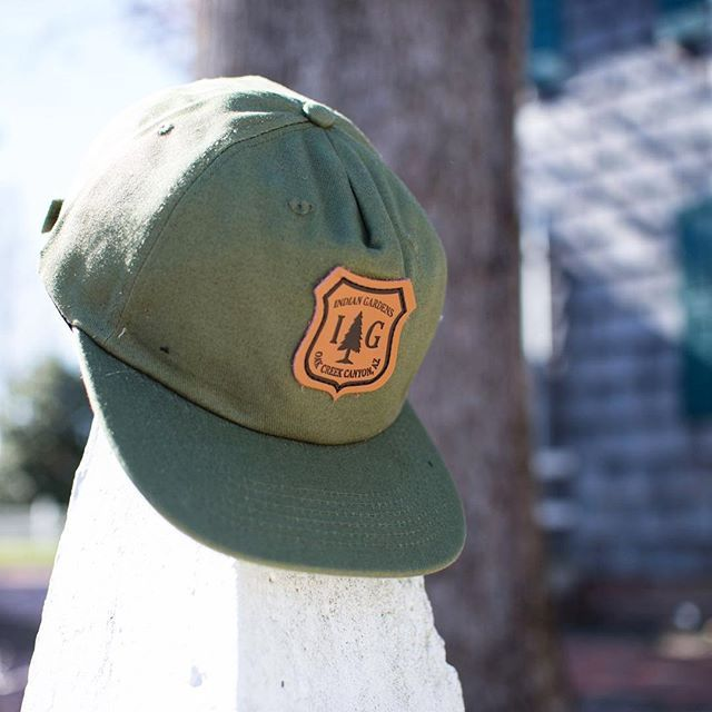 71d4f0b9bdf Custom Army Green Unconstructed Five Panel Strapbacks for  indiangardens !  Branding Options Include  Front Custom Shape Leather Patch with Black Ink  ...