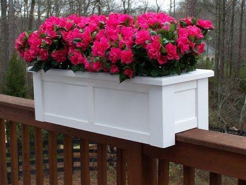 cottage deck weave planter planters box adastra rail