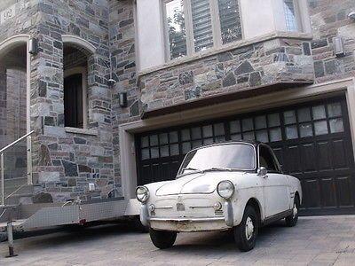 EBay Fiat 500 Bianchina Transformabile Microcar Classic Project Car Garage Barn Find Classiccars