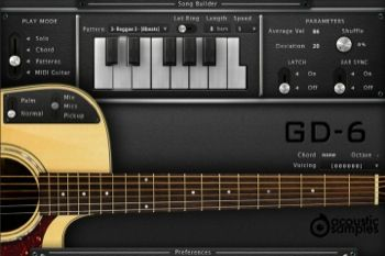 GD-6 Acoustic Guitar UVI Workstation Sample Library by