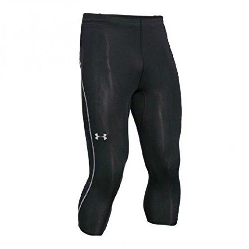 8783c26a58f81 Under Armour Men's CoolSwitch Run Compression 3/4 Legging, Black, L-R