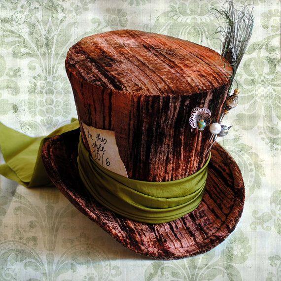 mad hatter halloween hut alice im wunderland kost m damen hut steampunk tea party hut custom. Black Bedroom Furniture Sets. Home Design Ideas