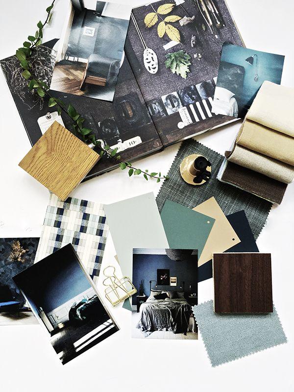 organiza tus ideas moodboard inspiratie boards pantone kleur trends moodboard interieur