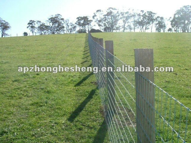 Wire Farm Fencing | Grassland Fence / Woven Wire Fence / Farm Fence ...
