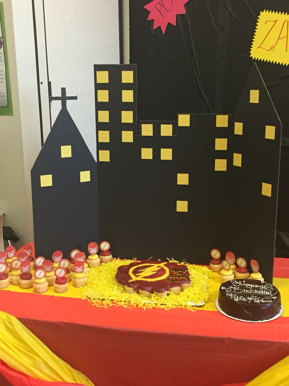 The Flash/Superhero Birthday Party Ideas | Birthday party snacks ...
