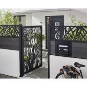 Aufregende coole Ideen Horizontale Zaun Courtyard Front Zaun PrivacyRustic Zaun design