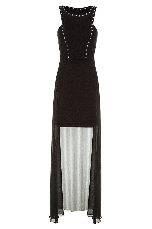 #black maxi #dress #TALLYWEiJL #musthave http://www.tally ...