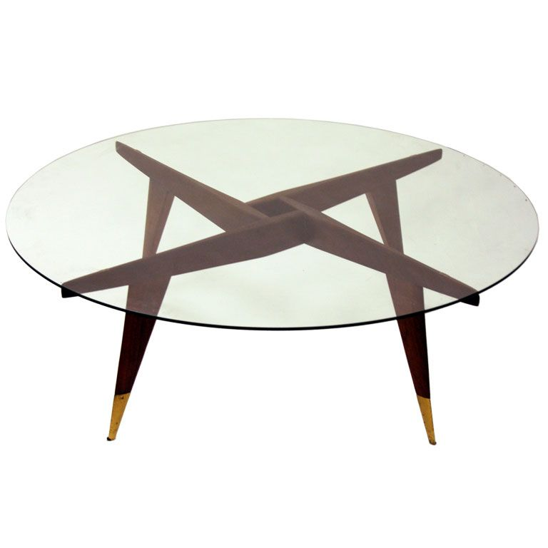 Compass Cocktail Table By Gio Ponti For Singer And Sons