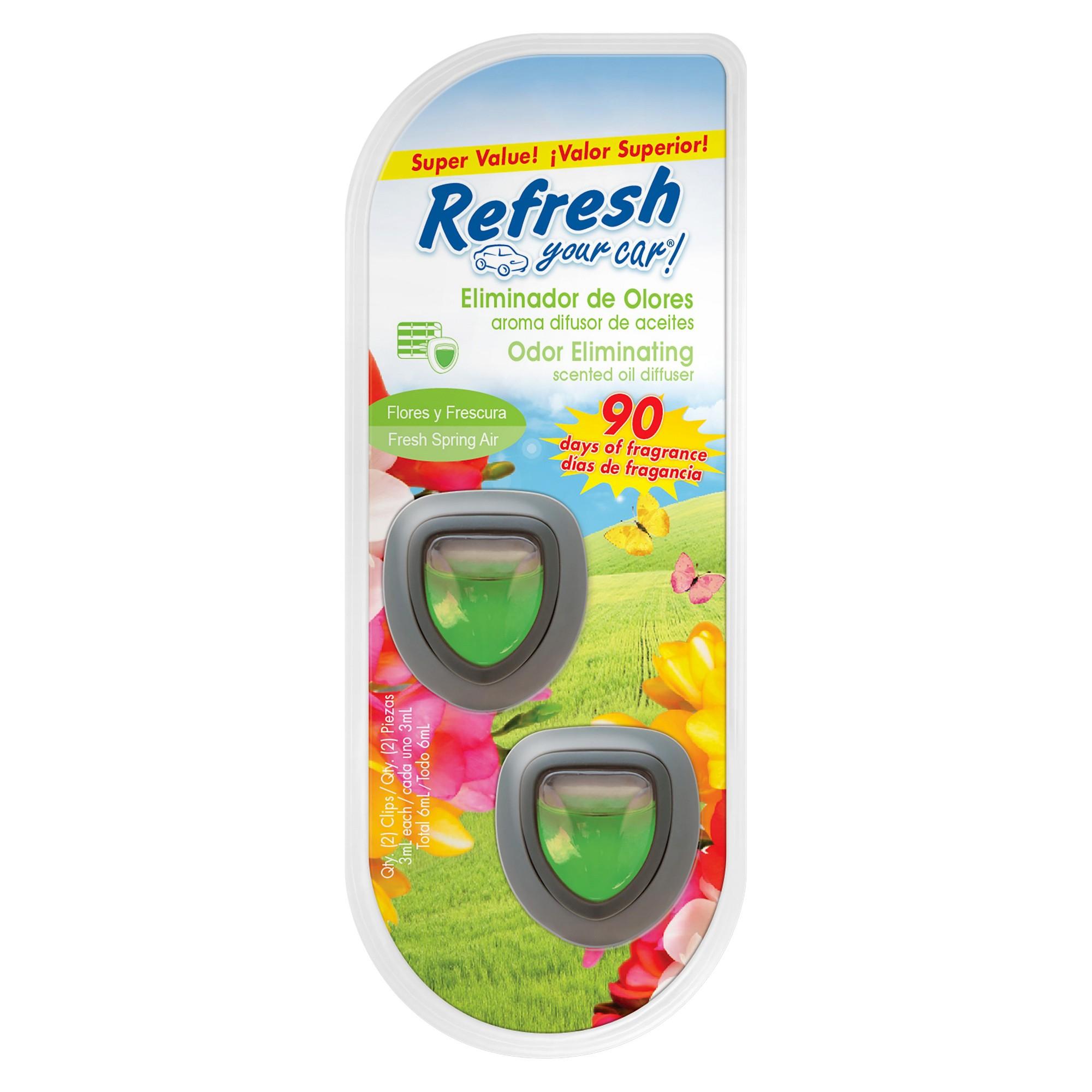 Air Fresheners Refresh Your Car Spring air, Diffuser