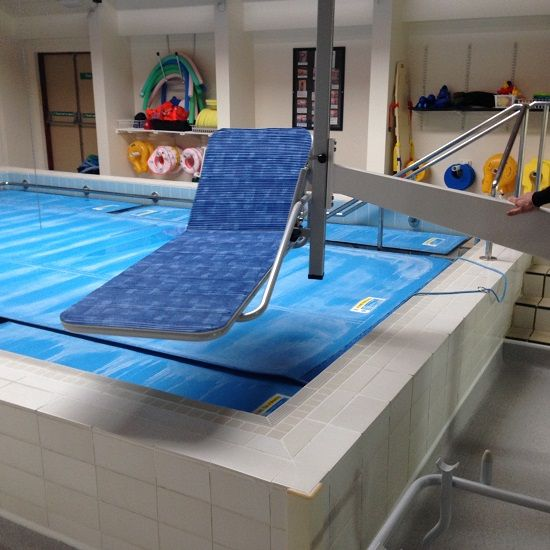 Neptune Hydrotherapy Pool Lift Dolphin Mobility Ltd