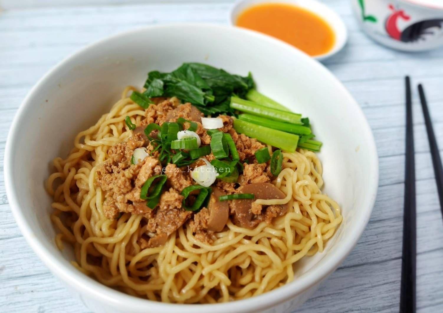 Resep Bakmi Ayam Jamur Oleh Melz Kitchen Resep Resep Masakan Masakan Korea Ide Makanan