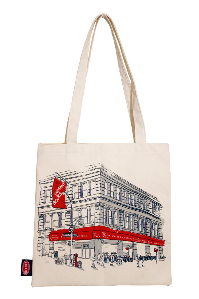 House of Books - Tote Bag, Strand Book Store - Topher MacDonald ...
