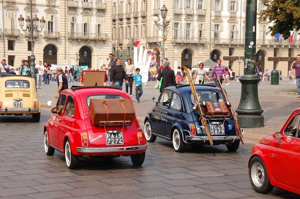 Turin - Fiat 500-Korso - 2 von Pauline P.