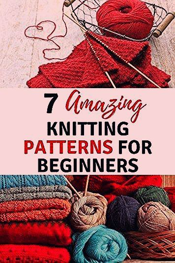 Photo of 7 amazing knitting projects for beginners. Blankets, hats, dishclothes, headband…