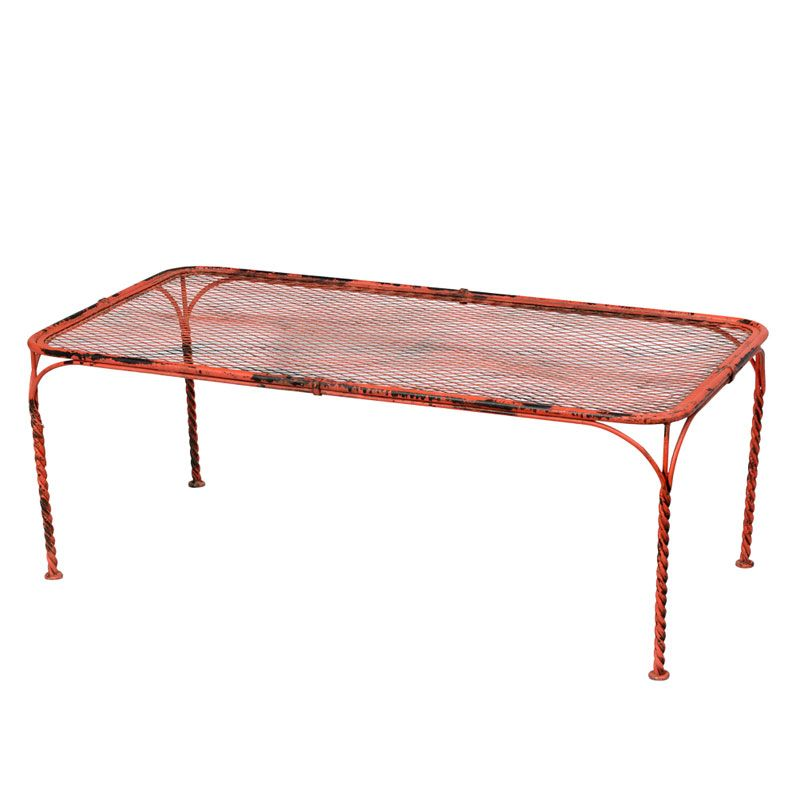 Industrial Wire Mesh Coffee Table