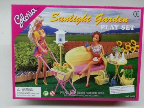 Sunshine Corner Gloria,Barbie Size Doll House Furniture// 9879