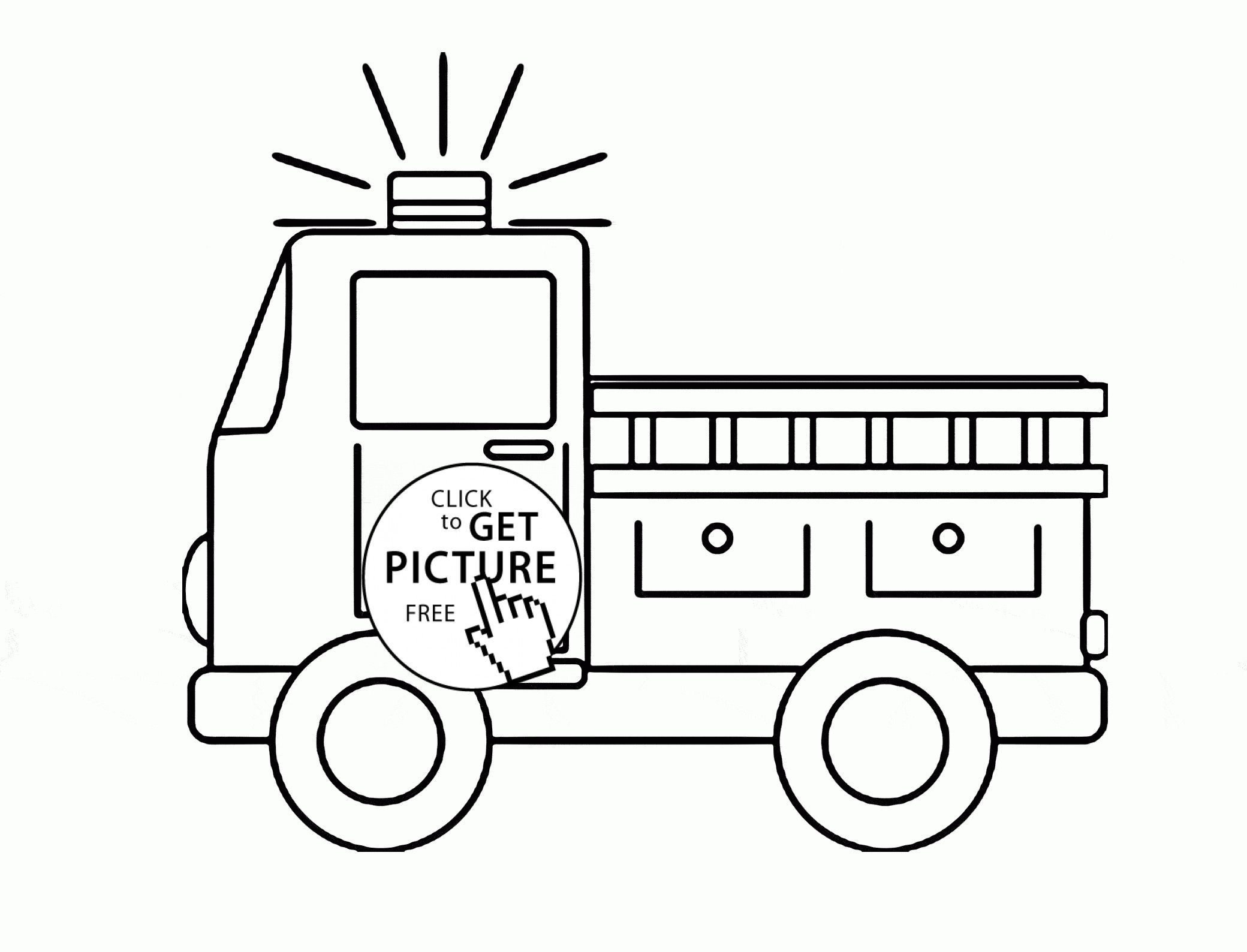 Fire Truck Coloring Page Luxury 38 Fire Trucks Coloring Pages Paw Patrol Marshall With Fire
