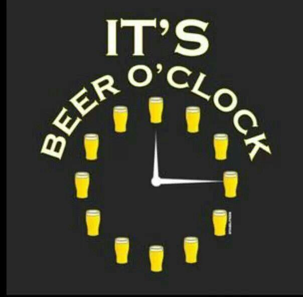 It S Beer O Clock T Shirt By Stabilitees Beer Humor Beer Quotes Beer Slogans
