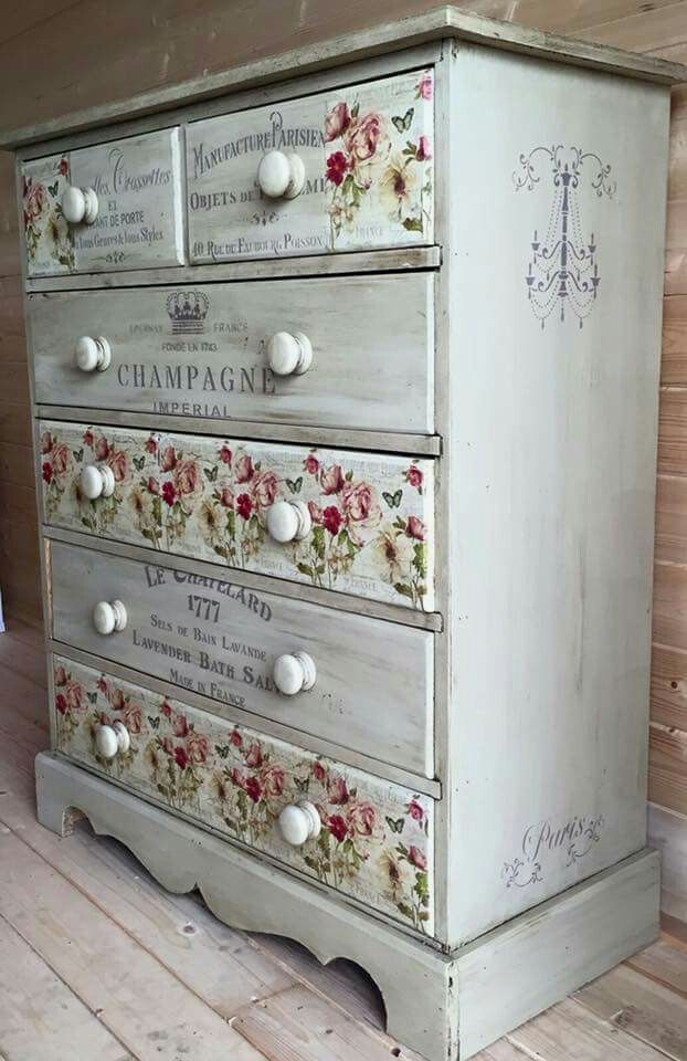 Love This Beautiful Refinished Dresser Find Pin And More On Shabby Chic Decor